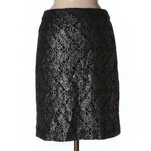 J. Crew Collection Palmilla Wool Lace Pencil Skirt
